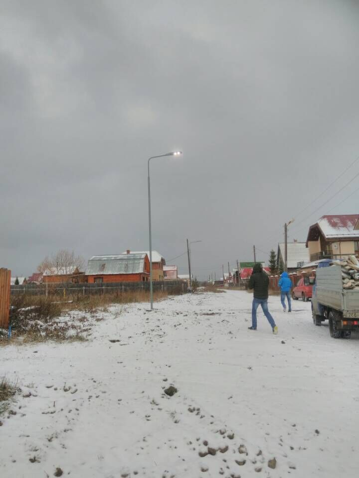 Russia Jekaterina LED street light Project