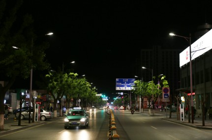 Intelligent induction LED street light, more humane and more energy-efficient new choice