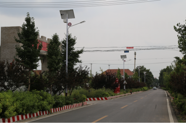 Kaichuang high-quality solar street lights help the construction of beautiful countryside