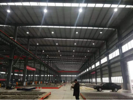 KaiChuang LED flood light, a good choice to illuminate the factory