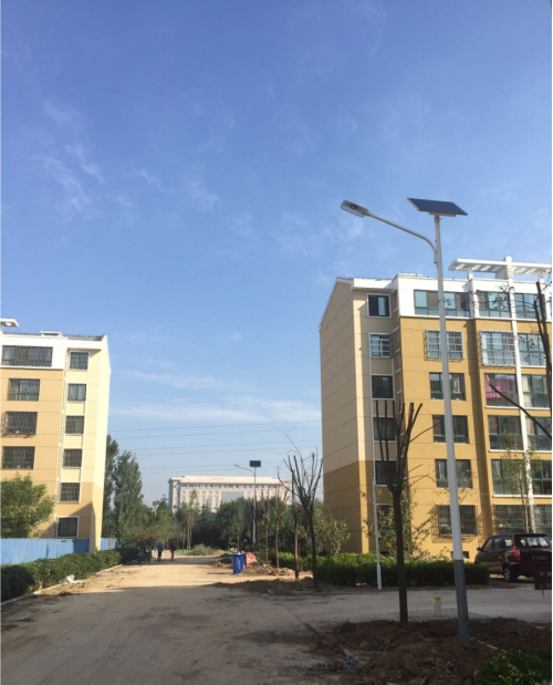 Kaichuang Solar LED Street Light Illuminates the Road for Jintuo Mining
