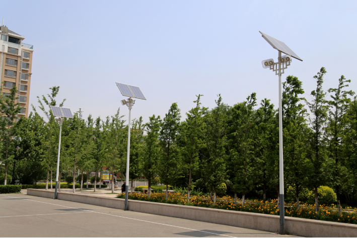 Kaichuang LED street lamps have been working hard to help save energy and reduce emissions