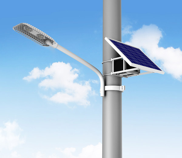 Simple Solar Street Light