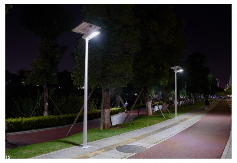Summer solar street light maintenance points